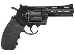 Swiss Arms Magnum .177-Caliber CO2 Powered Revolver, 4-Inch