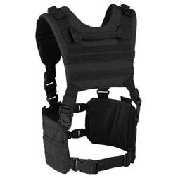 Condor MCR7 MOLLE Tactical Ronin Chest Rig Split Vest- Black