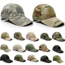 Men Tactical Operator Camo Baseball Hat Military Army Specia
