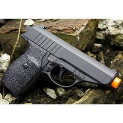 NEW METAL P232 SPRING AIRSOFT PISTOL FULL SIZE BLACK HAND GU
