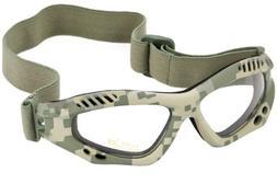 Mil-Tec Commando Goggles Air Pro Clear Lens ACU Digital Fram