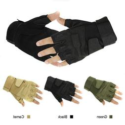 Outdoor Sports Military Half-finger Fingerless Tactical Airs