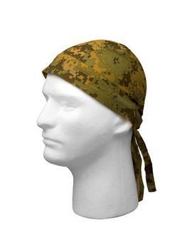 Digital Woodland Camouflage Military Headwrap