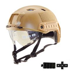 Military Tactical Helm Airsoft Paintball SWAT Protective Fas