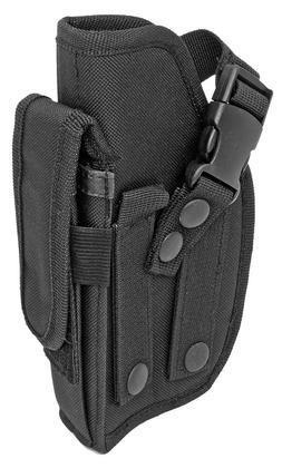 MOLLE Black Ambidextrous Gun Belt Holster BB Airsoft Pistol