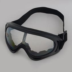 TOMOUNT Motorcycle Airsoft Goggles Tactical Paintball Clear