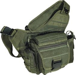 UTG Multi-Functional Tactical Messenger Bag, OD Green