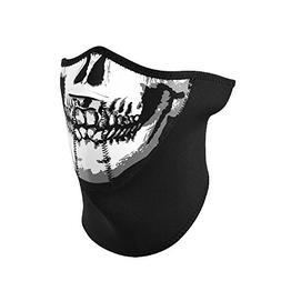 Neoprene 3-Panel Half Mask, Black