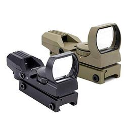 Ohuhu OH-RG-SC-4R Red Green Dot Gun Sight Scope Reflex Sight