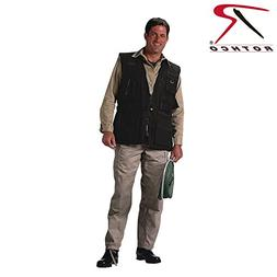 Rothco Outback Vest, Black, X-Large