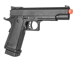 P2001A Spring Powered Tactical Airsoft Pistol w/ 6mm BBs + D