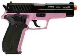 Sig Sauer P226 Pistol with Spare Magazine, Black/Pink