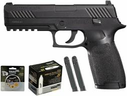 Sig Sauer P320 Airgun .177 cal 30 Rd Black with 2 Extra Maga