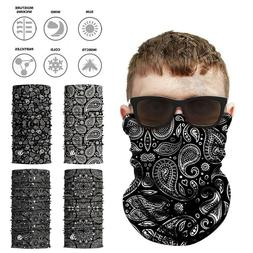 Paisley Neck Gaiter Face Shield Tube Military Cycling Huntin