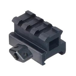 SNIPER Medium Profile Riser Mount with 3 slots, Quick Releas