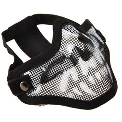 Protective Tactical Airsoft Striker Steel Metal Mesh Lower H
