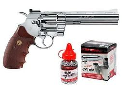 Colt Python CO2 Revolver Kit, Chrome air pistol