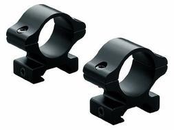 Leupold Rifleman Detachable Rings Low Black Matte