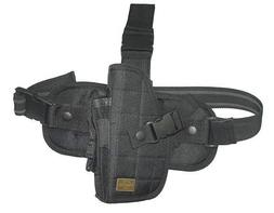 New Right Side Black Drop Leg Holster TaiGear