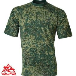 Russian Military T-Shirt  Digital Flora  Hunting Fishing Air