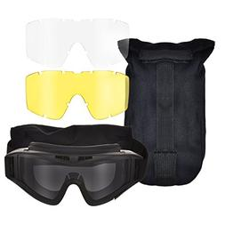 CVLIFE Safety Goggles Tactical Goggles Military Eye Protecti