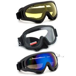 Safety Sports Goggles Airsoft Ski Motorsport Tactical Single