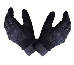 Shooting Gloves Tingtio Military Hard Knuckle Tactical Glove