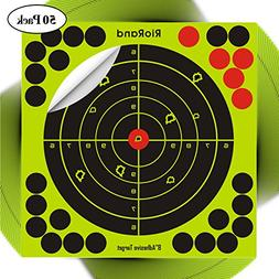 Shooting Splatter Targets 8 inch Self Adhesive Paper Reactiv