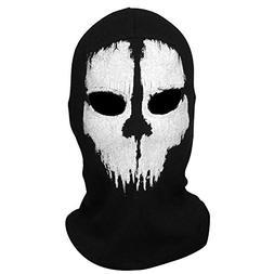 AStorePlus Skull Balaclavas Ghost Face Mask Skiiing Hat Warm