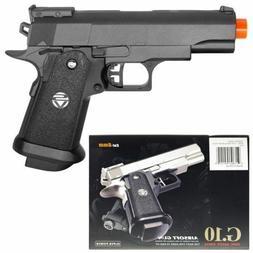 Small Metal Colt 1911 Airsoft Pistol Hand Gun 235fps w/1000