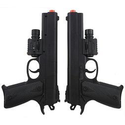 SPRING AIRSOFT PISTOL LED LASER SIGHT FLASHLIGHT HAND GUN AI