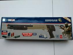 Crosman SS02 Spring Powered Marine airsoft shotgun package