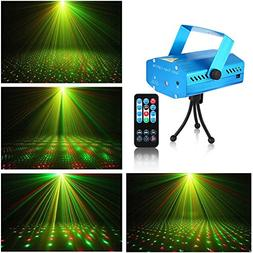 Litake LED Projector Laser Lights, Mini Sound Activated Auto