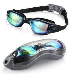 Aegend Swim Goggles, Swimming Goggles No Leaking Anti Fog UV