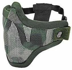 Tactical Airsoft 2G Strike Steel Half Mask- Jungle