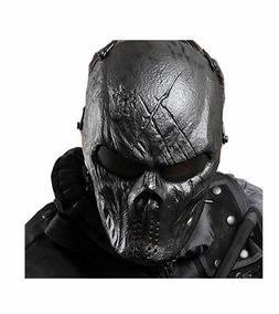 Coxeer Tactical Airsoft Mask Overhead Skull Outdoor Hunting