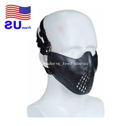 Tactical Airsoft Paintball Hunting Cosplay Protection Half F