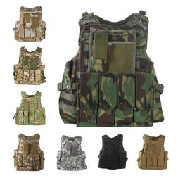 UltraGuards Tactical Air soft Paintball MOLLE Plate Carrier