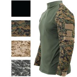 Tactical Camo Combat Shirt Airsoft Paintball Military Unifor