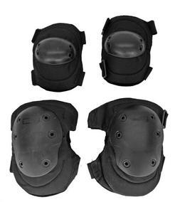 Tactical Combat IU-A05 Elbow & Knee Airsoft Protective Pads