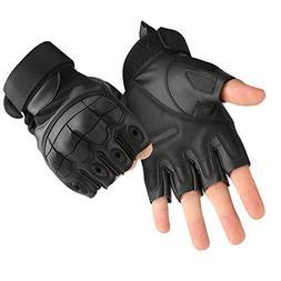 tactical fingerless half finger gloves