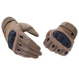 Tactical Gloves , ADiPROD  Hard Knuckle Full Finger for Outd