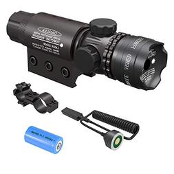 Feyachi Tactical Green Laser Sight with Picatinny Rail Mount