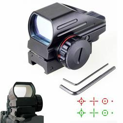 Tactical Holographic Aluminum Red & Green Dot Laser Sight 4