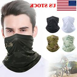 Tactical Military Balaclava Face Mask Paintball Airsoft Neck