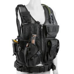 Tactical Military Battle Airsoft Bullet Combat Assault  Vest