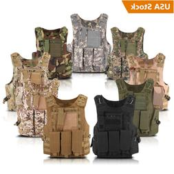 Tactical Military SWAT Police Airsoft Molle Combat Assault P