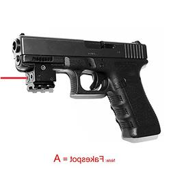 Tactical Mini Red Dot Laser Sight Compact with 20mm Rail Mou