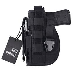 OneTigris Tactical Molle Modular Pistol Holster with Mag Pou