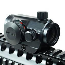 IRON JIA'S Tactical Red Dot Sight Scope 20mm Weaver Rail Mou